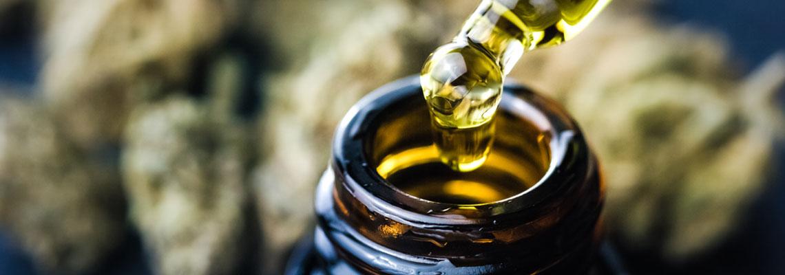 huile de CBD adaptée